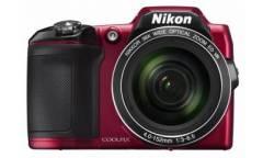 Цифровой фотоаппарат Nikon CoolPix L840 красный