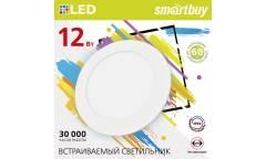 Встраиваемый (LED) светильник DL Smartbuy-12w/6500K/IP20 _168х10мм (врезн.отв.153мм)