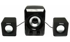 Компьютерная акустика Dialog Colibri AC-202UP Black 2.1, 11W RMS,питание от USB