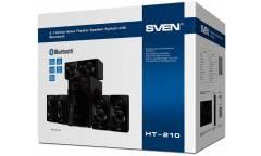 Колонки Sven HT-210 5.1 черный 125Вт