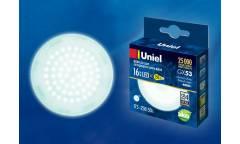 Лампа светодиодная Uniel LED-GX53-16W/NW/GX53/FR