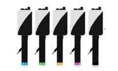Монопод для селфи BlackEdition проводной + большое зеркало (синий)