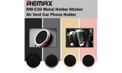 Автодержатель Remax Metal Sticker Holder RM-C30 (черный)