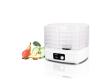 Сушилка для овощей и фруктов TESLER FD-511 белый/прозрачный 230Вт 332*282*222мм 7л