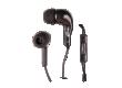 Наушники Ritmix RH-004M внутриканальные с микрофоном черные