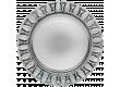 Светильник встраиваемый _DE FRAN _под лампу GX53/метал +зекальн.  с подсв. 4000К _4Вт d125мм
