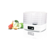 Сушилка для овощей и фруктов TESLER FD-521 белый/прозрачный 230Вт 320*278*222мм 7л