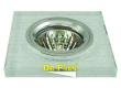 Светильник точечный_DE FRAN_ FT 772 MR16 квадрат хром / белый+серебр