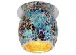 Светильник точечный_DE FRAN_ FT 867 G9 мозаика хром+бело-голубой