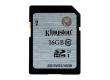 Карта памяти SDHC Kingston 16GB Class 10 UHS-I (45MB/s)