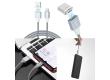 Кабель USB Hoco U40Bm Magnetic adsorption MicroUSB (серый)