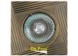 Светильник точечный_DE FRAN_ FT 105 GAB MR16 зел.античное золото