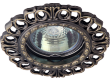 Светильник точечный_DE FRAN_ FT 1119 GAB MR16 зел.античное золото