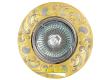 Светильник точечный_DE FRAN_ FT 182AK GCH MR16 золото+хром