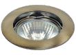 Светильник точечный_DE FRAN_ FT 208 GAB MR16 бронза