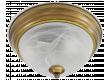 Светильник потолочный_DE FRAN_  YL2-3341-13/3YB _Е27 _3*40вт _ КЛАССИКА _старая медь  d33*h15см