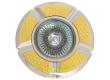 Светильник точечный_DE FRAN_ 16F161 DQ MR16 сатин-золото+хром